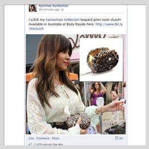 Kourtney Kardashian Shouts Out Body Royale