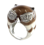 Kardashian-kollection-owl-ring