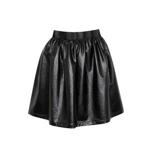 Kardashian-Kollection-skater-skirt-blki