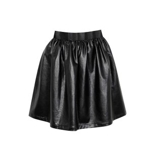 Kardashian-Kollection-skater-skirt-blki