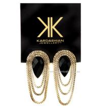 Kardashian Kollection Drop Chain Earrings